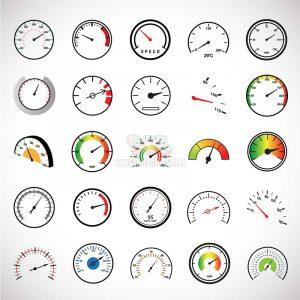 Đồng hồ đo tốc độ Vector đủ loại - KS1172