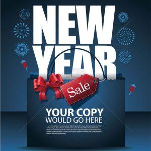 Vector Sale New Year miễn phí tải về - KS1042