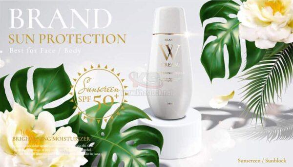 Quảng cáo mỹ phẩm Vector chất lượng cao - KS1059