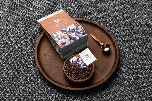 11 Mockup Bao Bì Cafe PSD - KS1221