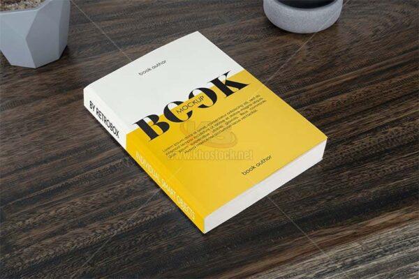 Mockup Sách PSD tuyệt đẹp - KS1205