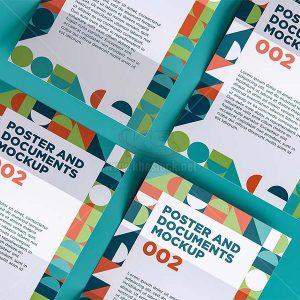 Poster tài liệu PSD Mockup - KS1211