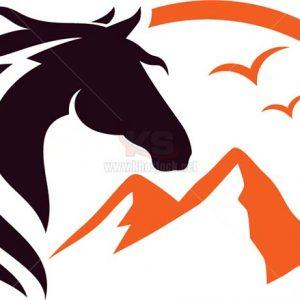 Logo Con Ngựa Vector tuyệt đẹp - KS1232