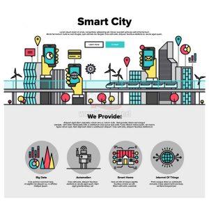 Smart City Vector tuyệt đẹp - KS1241