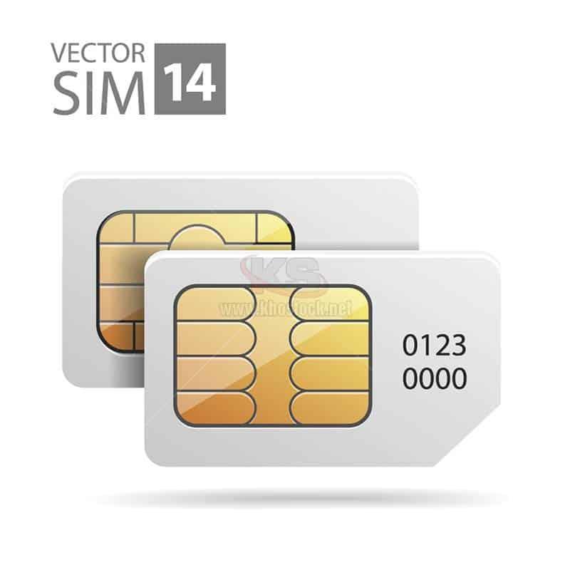 Vector Sim Điện Thoại Miễn Phí - KS1246