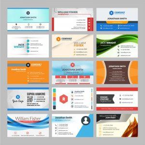 15 Business Card Vector tuyệt đẹp - KS1247