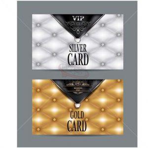 Vector VIP Card sang trọng và hiện đại - KS1248