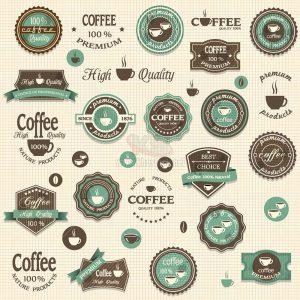 Logo Cafe Vector chất lượng cao tuyệt đẹp - KS1256