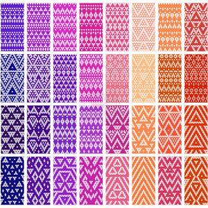 Vector hoa văn họa tiết Patterns – KS1293