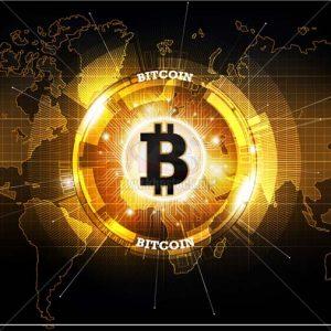 Background Bitcoin Vector chất lượng cao - KS1358