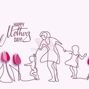 Vector ngày của Mẹ tuyệt đẹp - KS1423