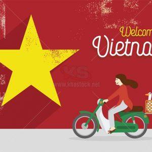 Welcome To Vietnam Vector - KS1453