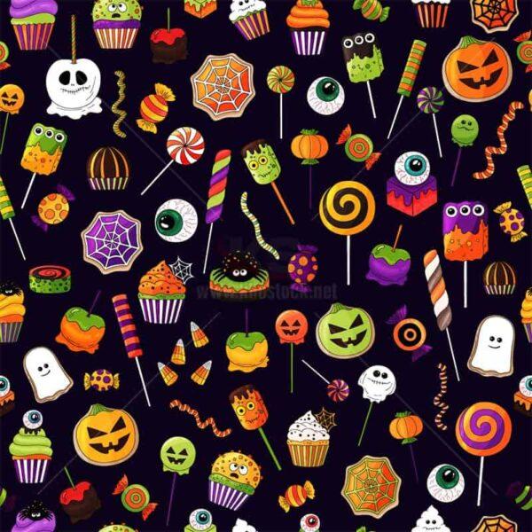 Vector Patterns Halloween tuyệt đẹp - KS1477