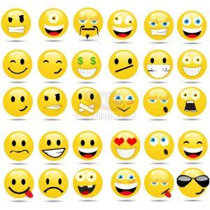 Vector Icons mặt cười độc lạ – KS1479